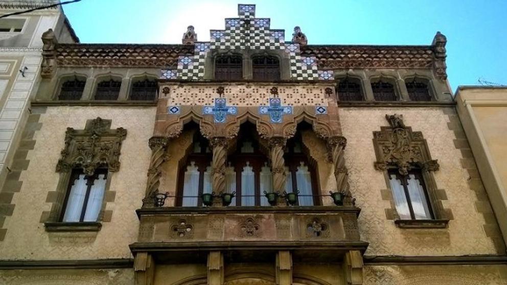 La Vanguardia: Restauración De La Casa Coll I Regàs, Símbolo Del Modernismo En Mataró