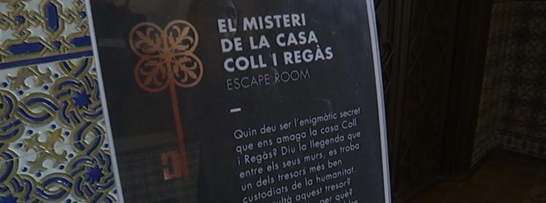 La Casa Coll I Regàs Es Converteix En 'escape Room' Per Celebrar Els 121 Anys | Mataró Audiovisual