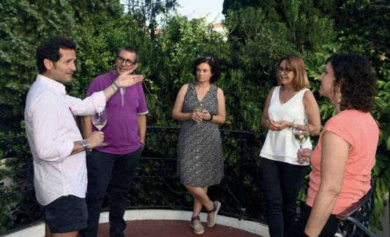 Vins DO Alella, gastronomia i modernisme es fonen a la casa Coll i Regàs